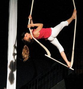 cirque mirabel aérien enfant