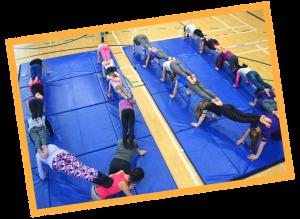 cirque camp relache acrobatie gymnastique pyramide aéerien mirabel blainville st-jerôme