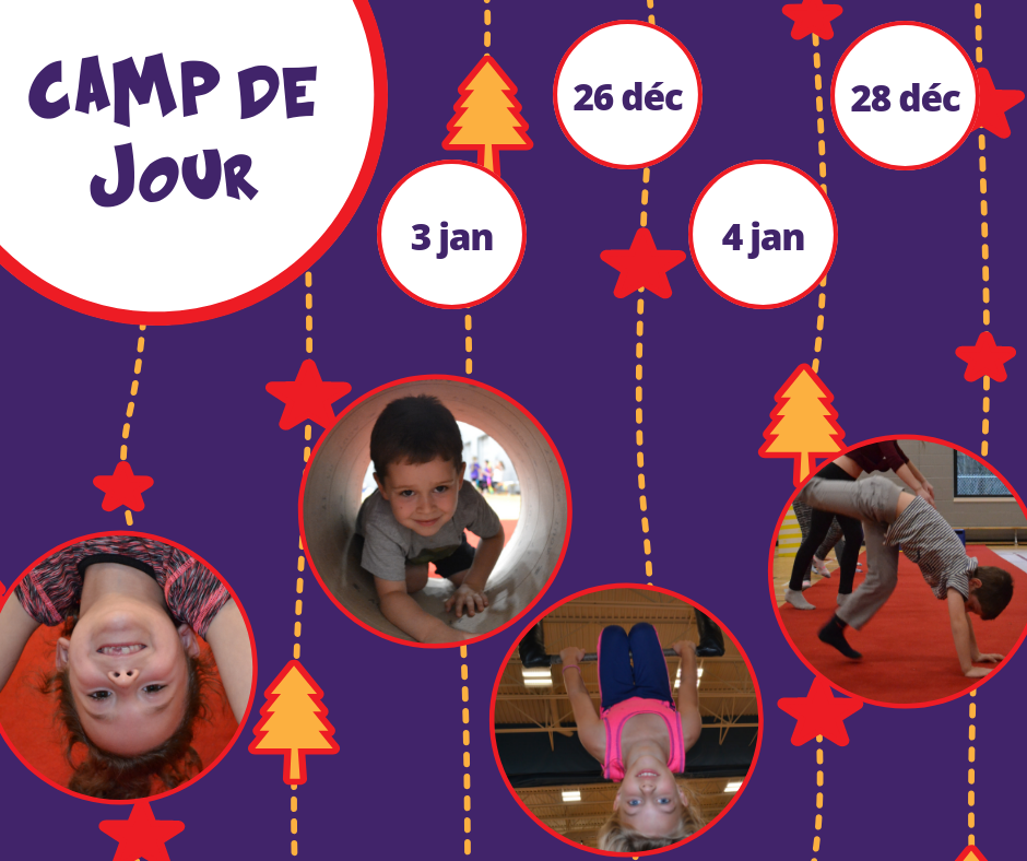 cirque gymnastique camp mirabel st-jérome blainville