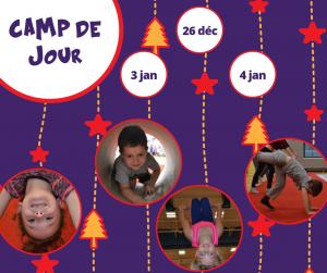 camp enfant cirque Mirabel Blainville St-Jérôme